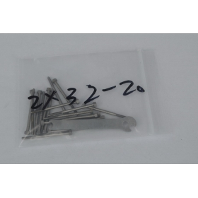 20xM2 stainless steel screws 32MM length
